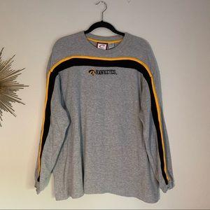 Cadre Athletic University of Iowa Gray Shirt XL